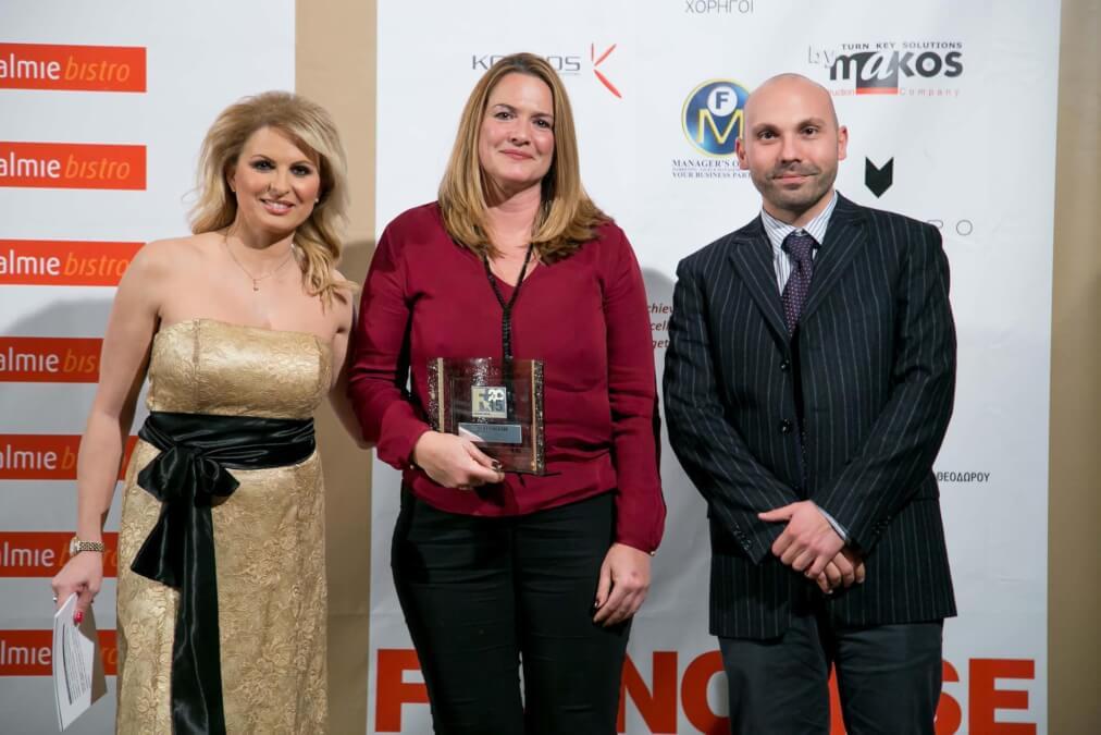 Θέμης Σαρανταένας Βραβεία Franchise 2015