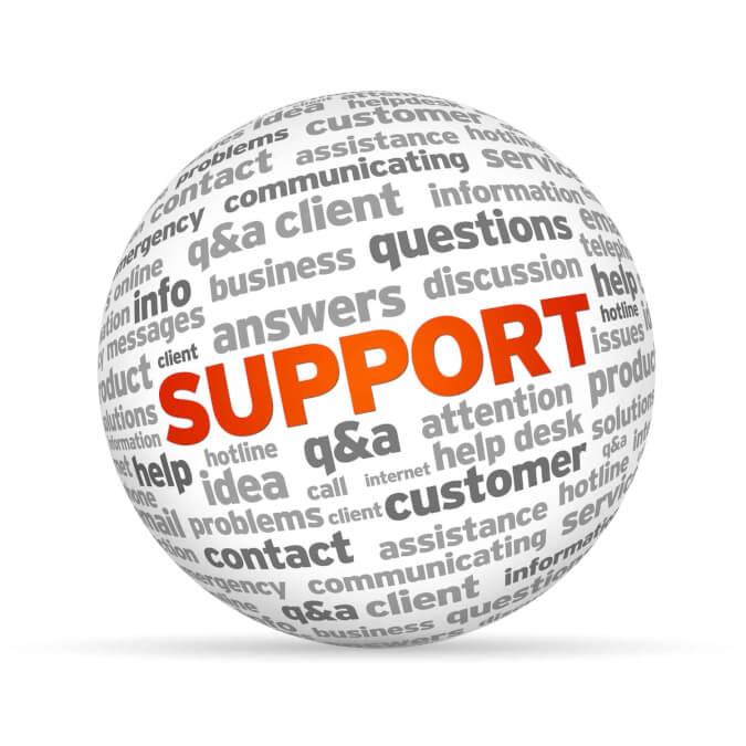 υποστήριξη μάρκετινγκ
