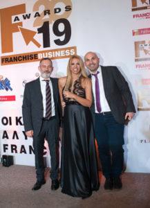Franchise Awards 2019 Θέμης Σαρανταένας Τζένη Μελιτά