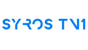 SYROS TV1 LOGO NEW Blue