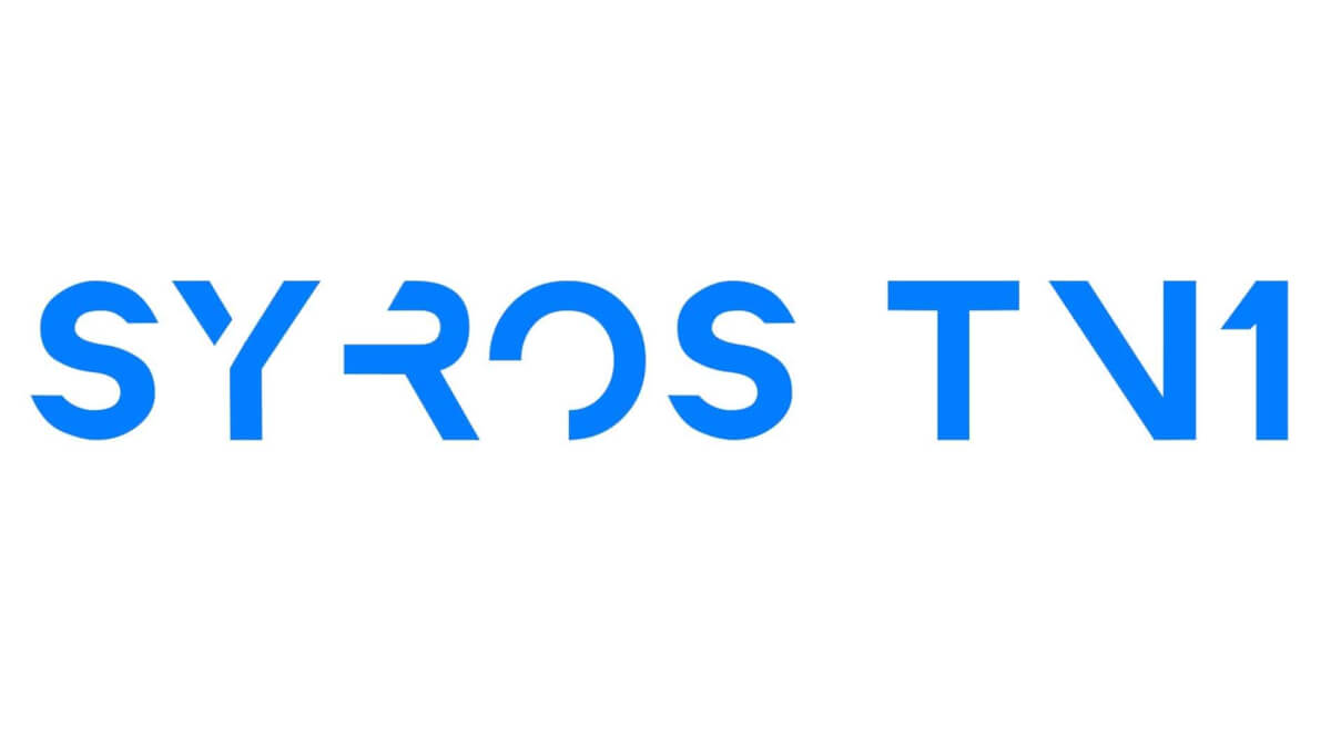 SYROS TV1 LOGO NEW Blue