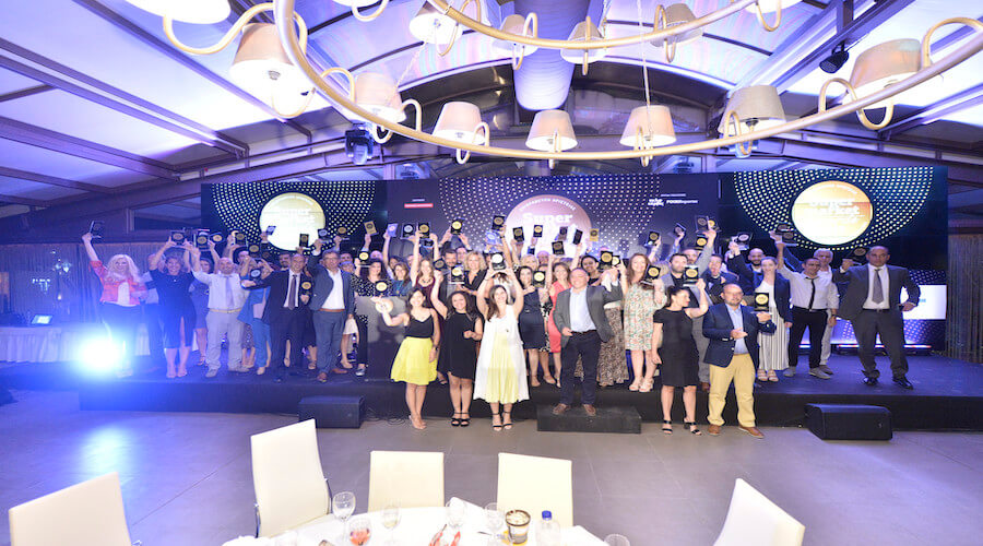 O Θέμης Σαρανταένας στα Super Market Awards 2019