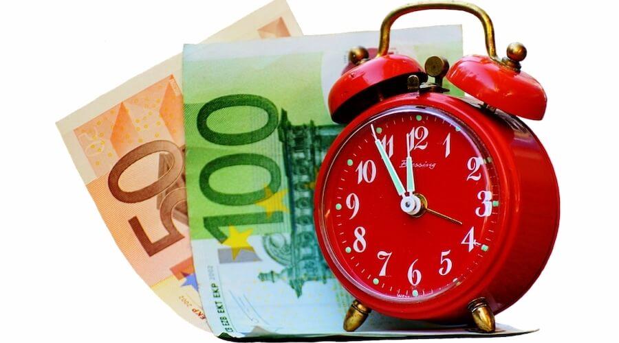 Ο χρόνος είναι χρήμα. Κυριολεκτικά